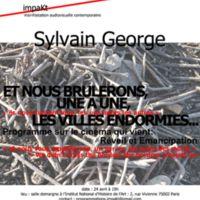 """Affiche impaKt """"Sylvain Georges"""""""