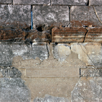 Aizanoi, temple de Zeus (IIe siècle apr. J.-C.) : dédicace du temple