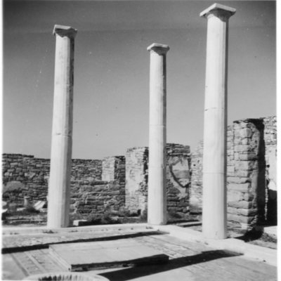 Péristyle de la Maison du Dionysos