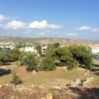 Attique, Grèce, Vari, nécropole archaique et habitat classique