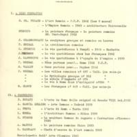 Bibliographie d'art romain de deuxième année