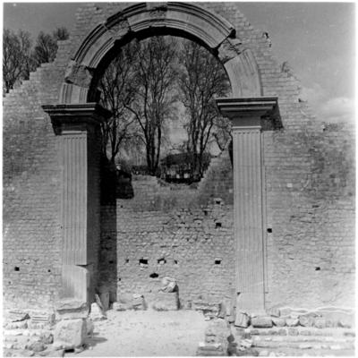 Vaison-La-Romaine, site archéologique des thermes