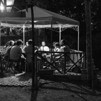 Italie, Civita di Tricarico (Basilicate) : moments de détente après la fouille