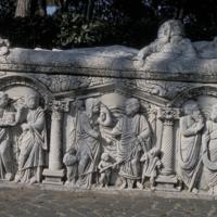 Ostie, sarcophage