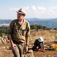Olivier de Cazanove (l'un des deux responsables du chantier)
