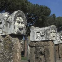 Ostie, forum des Corporations, théâtre