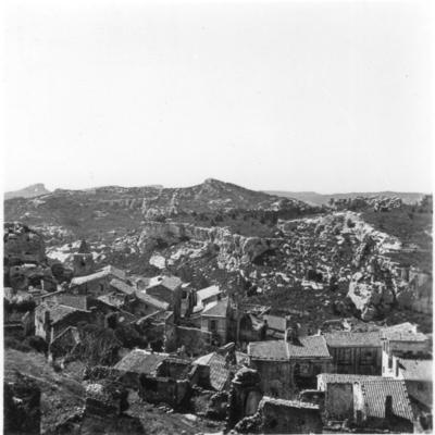 Les Baux-de-Provence, vues panoramiques du centre moderne