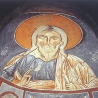 La voûte de l&amp;#039;abside sud-est : Abraham Sainte Face, <br />