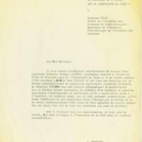 Demande d'autorisation de déplacement de Bohumil Soudsky pour effectuer des fouilles en Grèce.