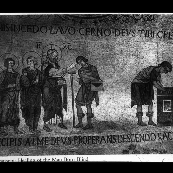 Saint Marc, transept sud, guérison de l'aveugle né