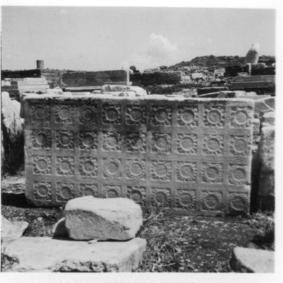 Délos, Quartier du Sanctuaire