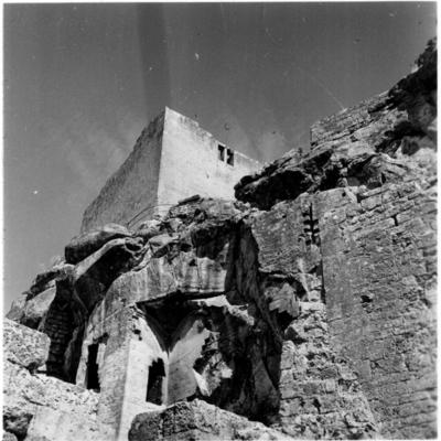 Les Baux-de-Provence, ruines du château et du donjon