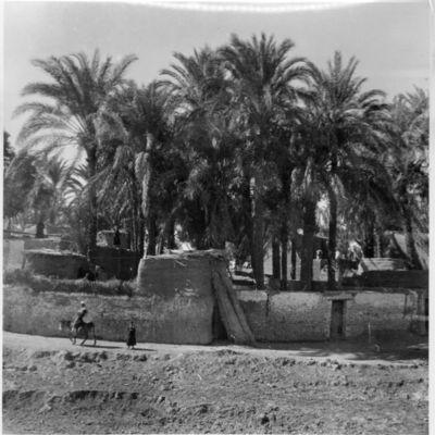 Qena, village indigène.