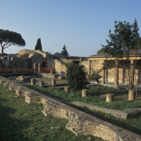 Ostie, Schola del Traiano