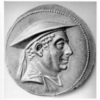 Antimachos de Bactriane tetradrachme
