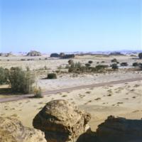 Arabie Saoudite, Hégra : paysage