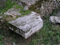 Muraille classique d'Athènes: tronçon d'Odos Iraklidon, détail